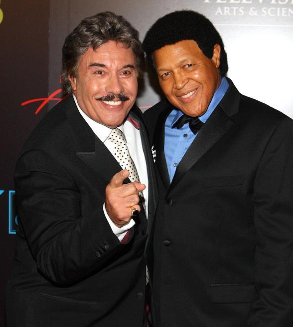 Tony Orlando and Chubby Checker