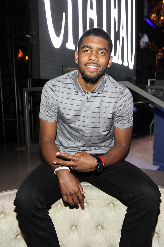 Kyrie Irving celebrates birthday at Chateau Nightclub