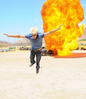 When Cars Explode! Death-Defying Stunts by Magicians Murray SawChuck, Jan Rouven and Michael Griffin on REELZ' Extreme Escapes Dec. 13