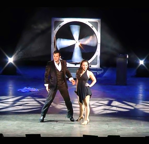Las Vegas Magicians Kyle Knight and Mistie