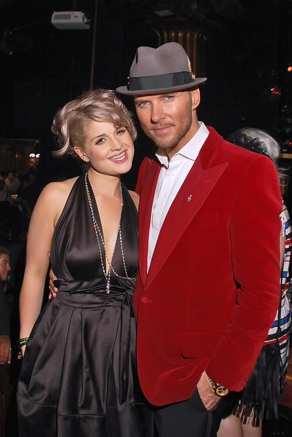 Kelly Osbourne and Matt Goss