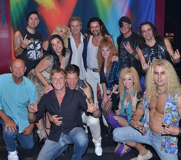 """Karate Kid"" stars Billy Zabka, Martin Kove, Rob Garrison and Sean Kanan at ""Rock of Ages"""