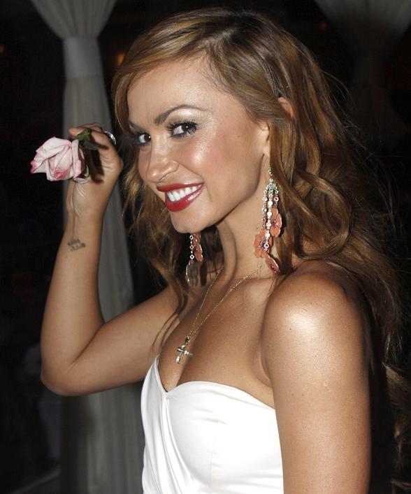 Karina Smirnoff celebrates birthday at PURE Nightclub