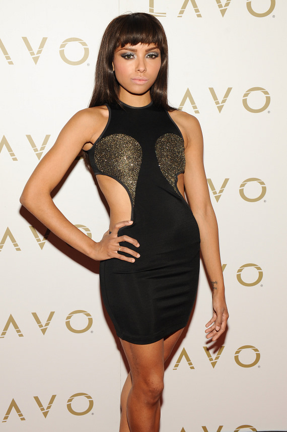 Kat Graham on LAVO red carpet