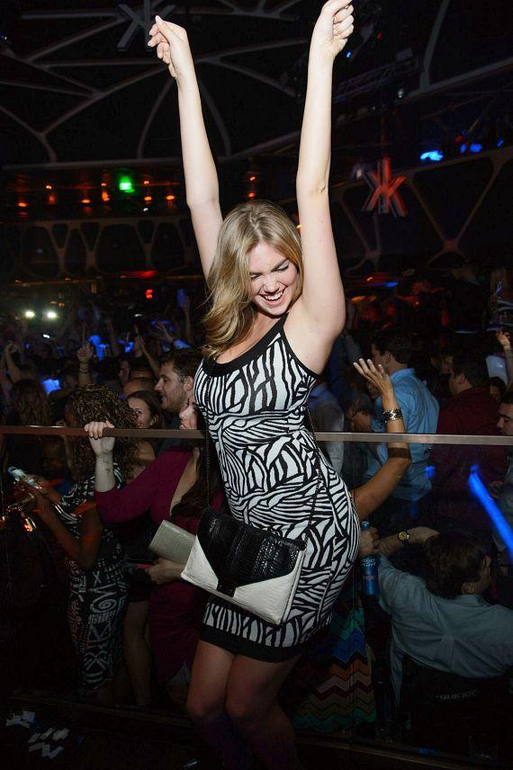 Kate Upton at Hakkasan Las Vegas