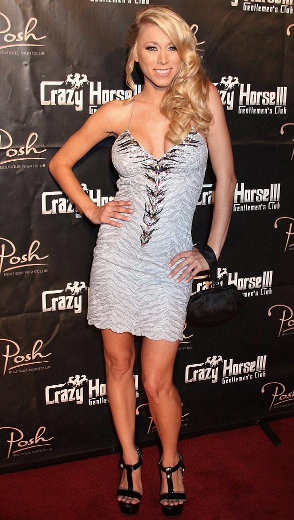 HBO Starlet Katie Morgan Hosts Bangin' Booty Contest at Posh Boutique Nightclub inside Crazy Horse III