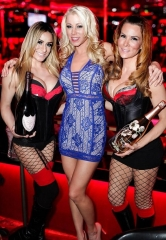 Adult Film Star Katie Morgan hosts Crazy Horse III App Launch Party Las Vegas Style