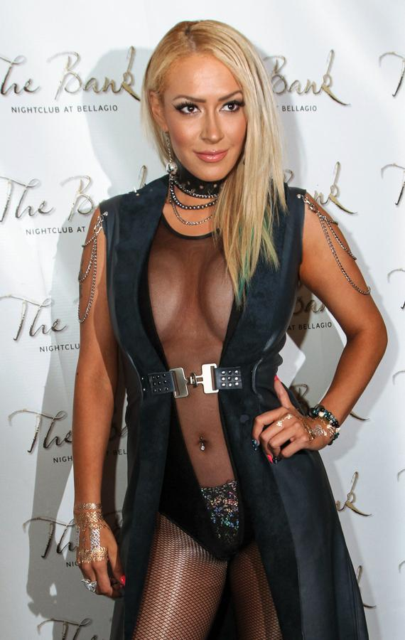 Kaya Jones on the Red Carpet at The Bank Nightclub