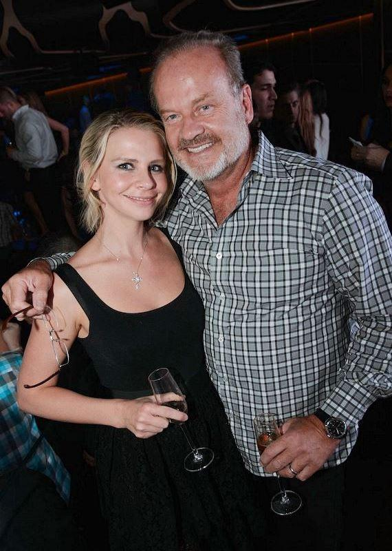 Kayte Walsh and Kelsey Grammer at Hakkasan Las Vegas