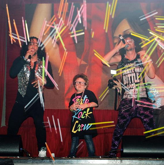 Keenan Cahill and LMFAO perform at TAO