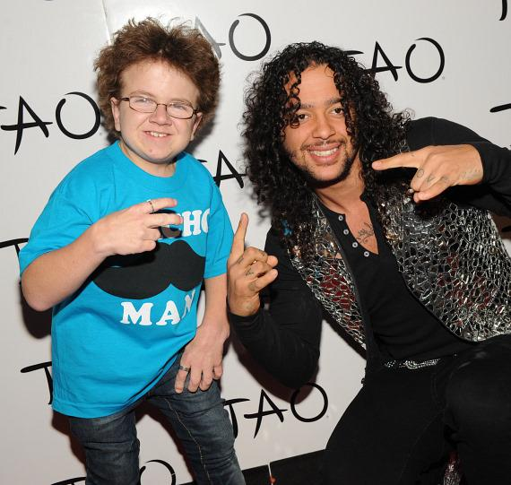 Keenan Cahill and Skyblu at TAO