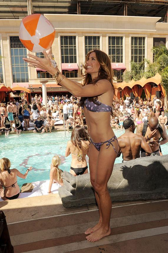 Kelly Bensimon at TAO Beach