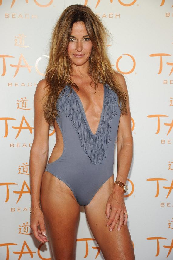 Kelly Bensimon on red carpet at TAO Beach