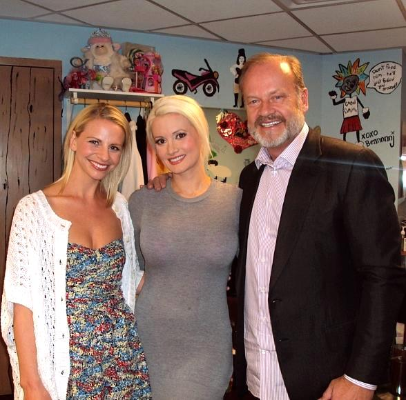 Kelsey Grammer and Kayte Walsh at PEEPSHOW