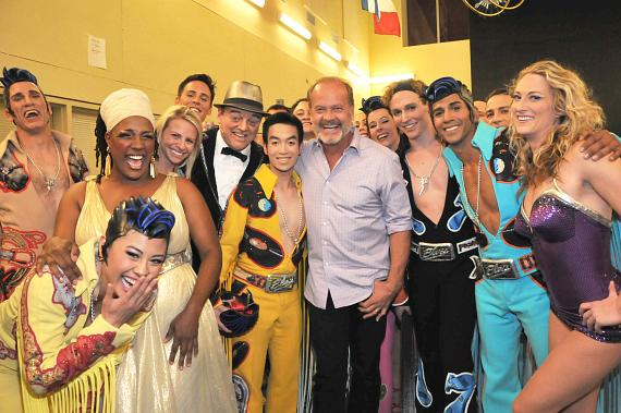 Kelsey Kayte and cast of Viva ELVIS by Cirque du Soleil at ARIA Resort & Casino