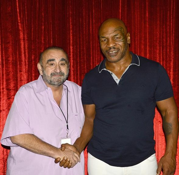 "Actor Ken Davitian attends ""Mike Tyson: Undisputed Truth"" at MGM Grand Las Vegas"