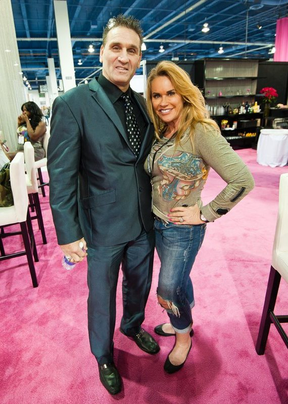 Ken Shamrock (MMA legend) and Cheryl Prater