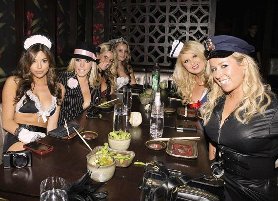 Kendra Wilkinson hosts sexy Halloween party at LAX Nightclub