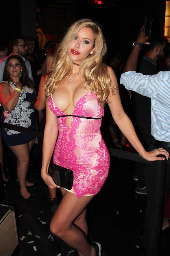Playboy Playmate Kennedy Summers Hosts Party at Chateau Nightclub & Rooftop