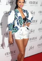 Keri Hilson Celebrates New Year at Chateau Nightclub & Rooftop