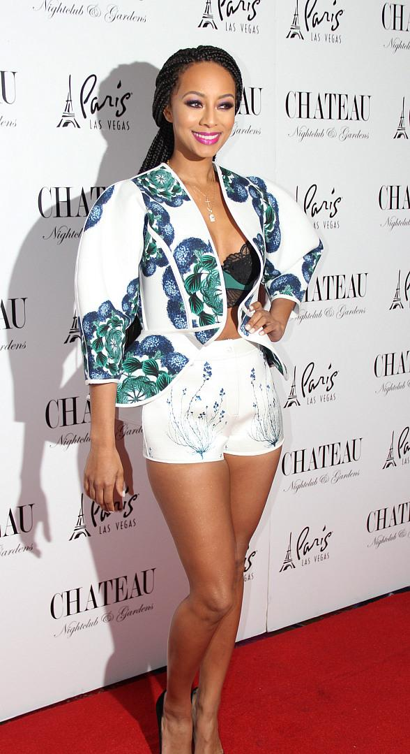 Keri Hilson Celebrates New Year at Chateau Nightclub u0026 Rooftop