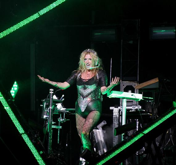 Ke$ha performs at The Pearl