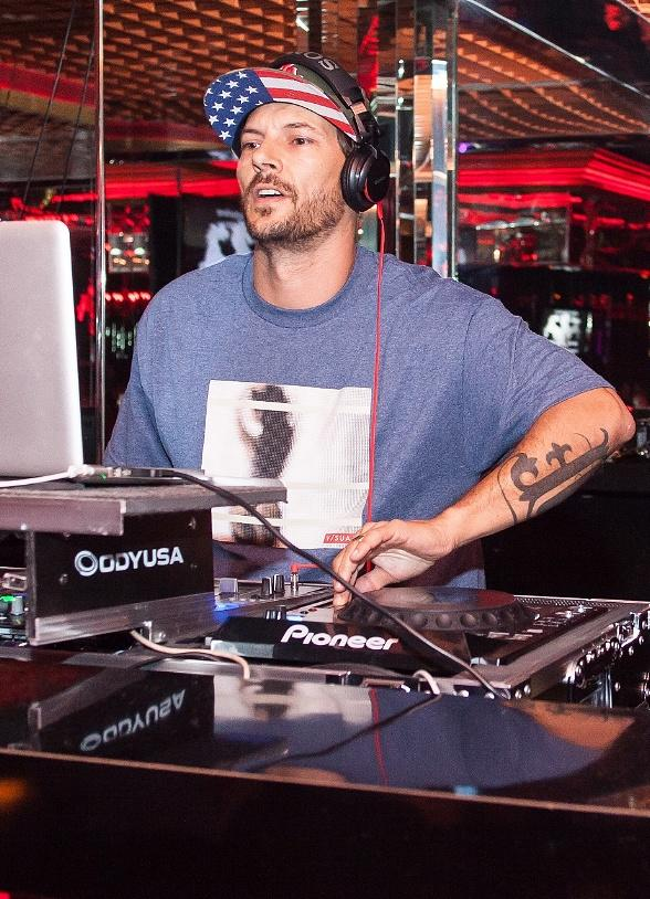 Dancer and Musician Kevin Federline Hosts Fantasy Draft Party and Performs Live DJ Set at Crazy Horse III in Las Vegas