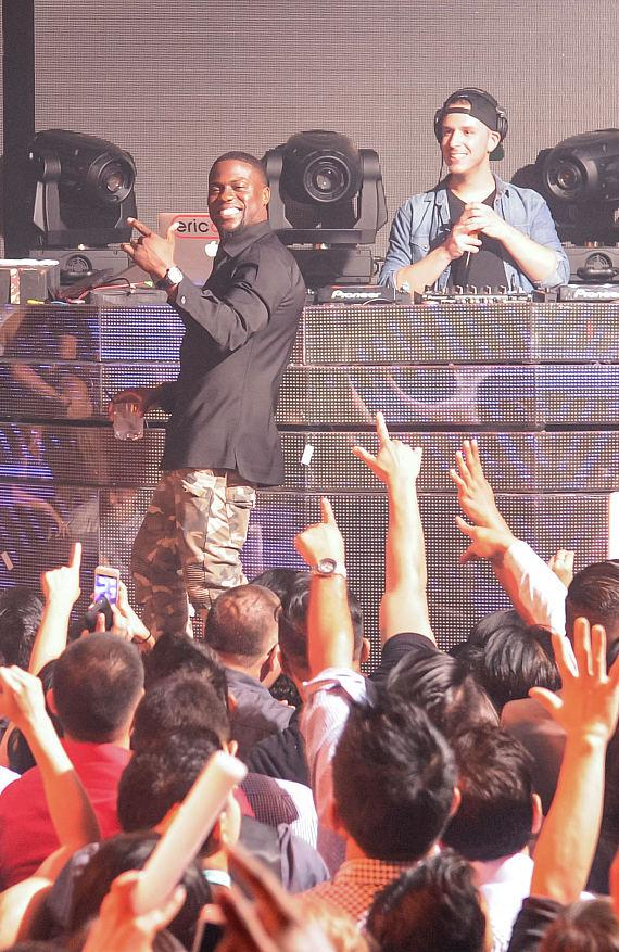 Kevin Hart hosts HartBeat Weekend After Party at Marquee
