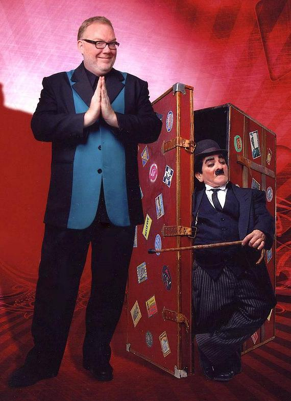 Comedy Illusionist Kevin James (with Charlie Chaplin)