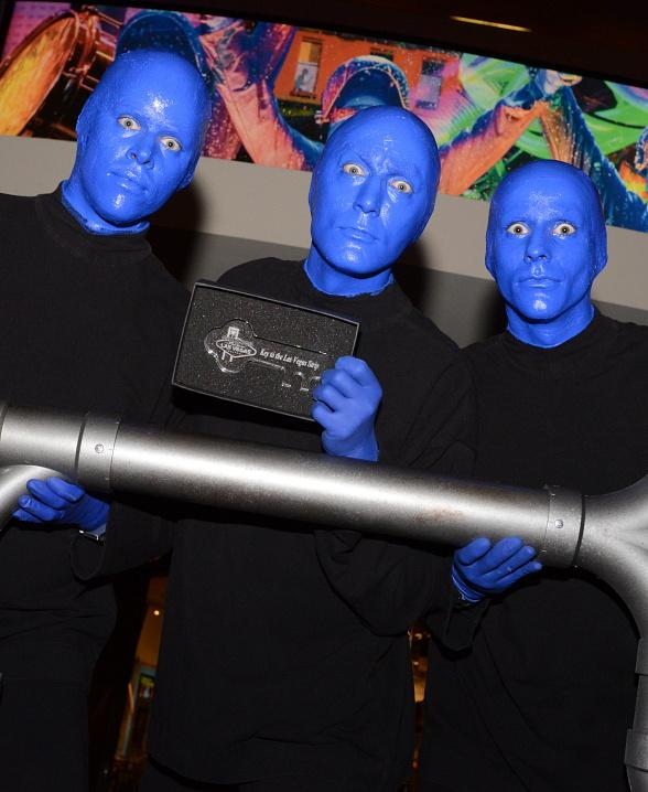 "Officials Declare ""Blue Man Group Day"" Around the Country"