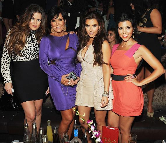 Kim Kardashian and Kris Humphries Bachelor and Bachelorette Parties at TAO and LAVO