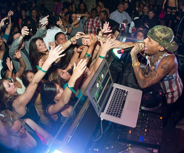 Kid Ink performs for Stereo Saturdays at LAVO in Las Vegas