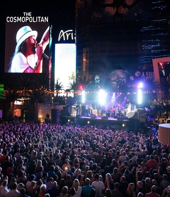 Kid Rock Performs at Boulevard Pool at The Cosmopolitan of Las Vegas