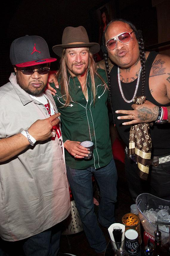 Kid Rock and the Boo Yaa Tribe at LAVO