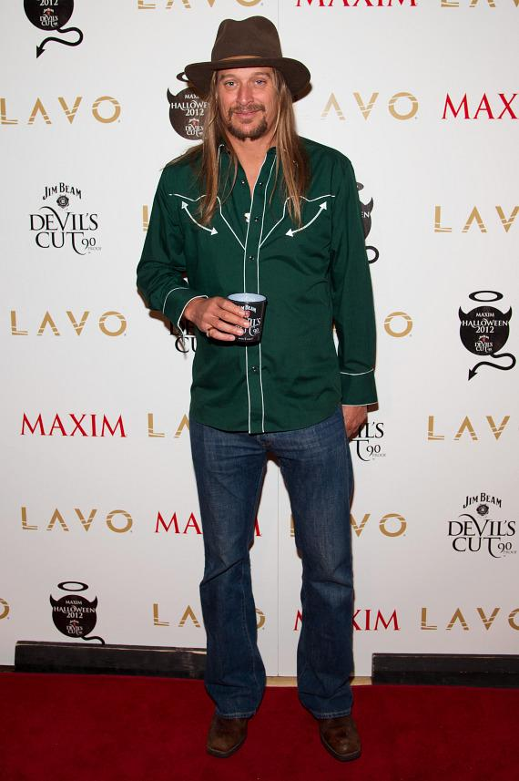 Kid Rock at LAVO for MAXIM Jim Beam Devil's Cut Party
