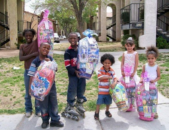 E BUNNY 2011: Celebrating 21 Years of Bringing Joy to Homeless & Underprivileged Children