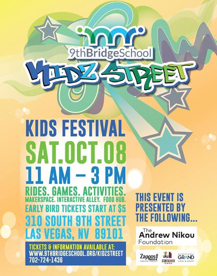 9th Bridge School to Host Inaugural 9th Bridge Kidz Street Festival; Family-Friendly Event will Feature Food, Entertainment, Games, Activities, and Rides