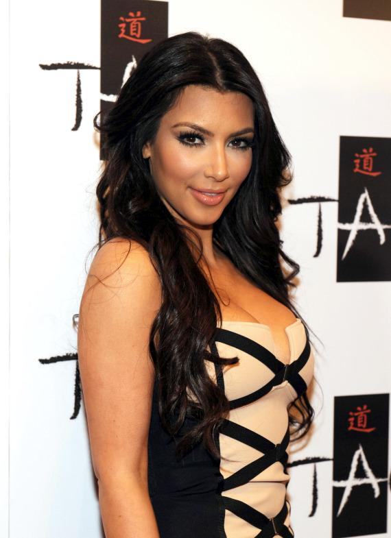 Kim Kardashian on TAO Red Carpet