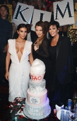 Kim Kardashian West Celebrates Her Birthday at TAO Las Vegas
