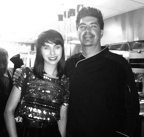Kimbra with Scarpetta Las Vegas' Chef de Cuisine Dan Rossi