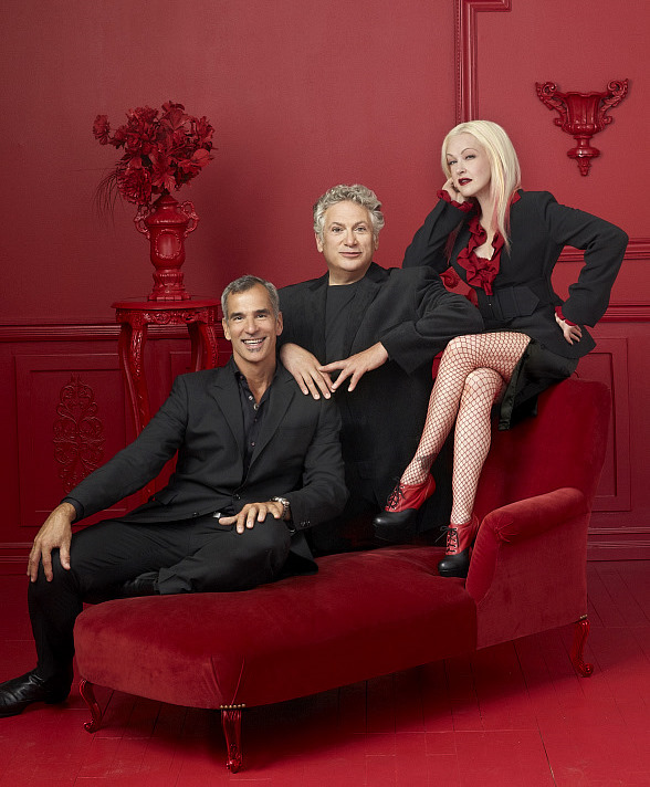 Kinky Boots - Jerry Mitchell, Harvey Fierstein, and Cyndi Lauper