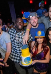 Golden State Warriors Celebrate NBA Championship at Marquee Nightclub in The Cosmopolitan