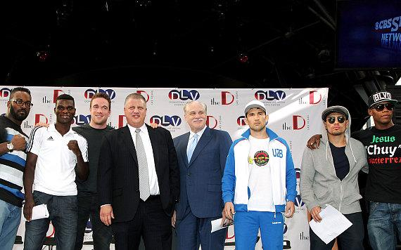 Knockout Night at the D Press Conference