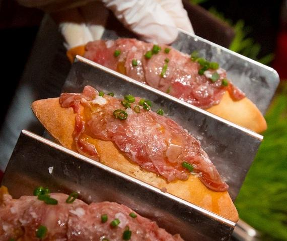 Kobe Airbread at Bazaar Meat during Dine-N-Dash at SLS Las Vegas