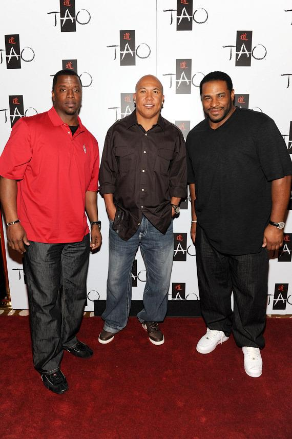 Kordell Stewart, Hines Ward & Jerome Bettis at TAO