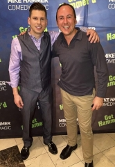 Kostya Kimlat, the Magician who Fooled Penn & Teller, visits The Mike Hammer Show in Las Vegas