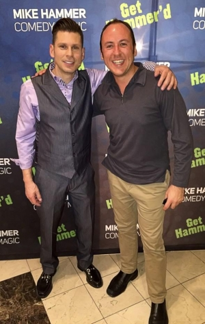 Kostya Kimlat, the Magician who Fooled Penn and Teller, visits the Mike Hammer Show