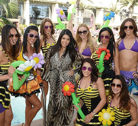 Kourtney Kardashian hosts Marquee Dayclub season preview at Marquee Dayclub at The Cosmopolitan