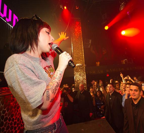 Kreayshawn performs at TAO Friday