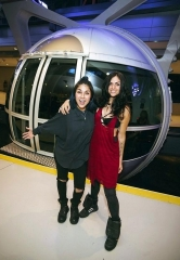 Krewella Holds Their Meet and Greet with Fans on the High Roller in The LINQ Promenade